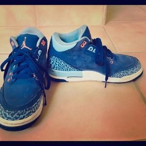 Air Jordan 3 Retro Girls GS Shoe.